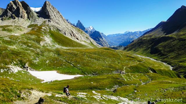Val Veni, Tour de Mont-blanc